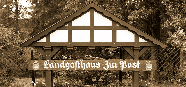Landgasthaus Zur Post in Horn-Bad Meinberg Steinheim